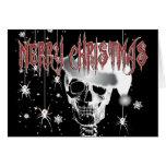 Navidad espeluznante tarjeton