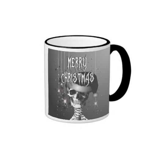 Navidad espeluznante tazas de café