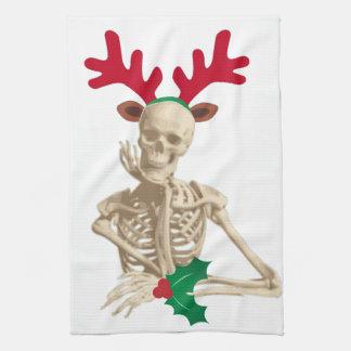 navidad esquelético de la pesadilla toallas de cocina