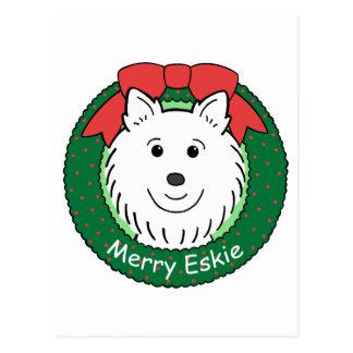 Navidad esquimal americano tarjetas postales