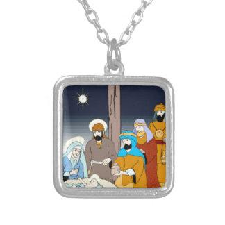 Navidad estilizado colorido del regalo de la escen grímpola