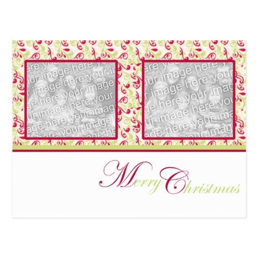 Navidad excepcional tarjeta postal