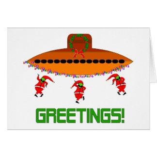 Navidad extranjero felicitación