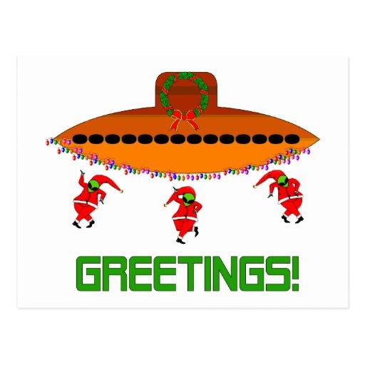 Navidad extranjero tarjetas postales