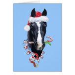 Navidad fantasmagórico tarjetas