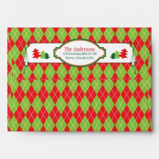 Navidad fea verde roja del fiesta del suéter del n