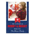 Navidad Felices y brillantes Comunicado Personalizado