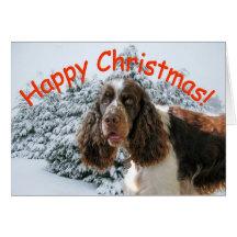 ¡Navidad feliz del saltador! Tarjetas