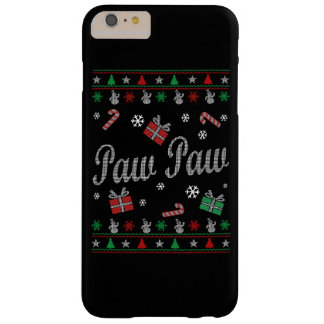 Navidad feo de s de la pata de la pata ' funda barely there iPhone 6 plus