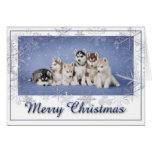 Navidad fornido tarjeta