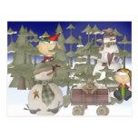 Navidad Forrest Postales