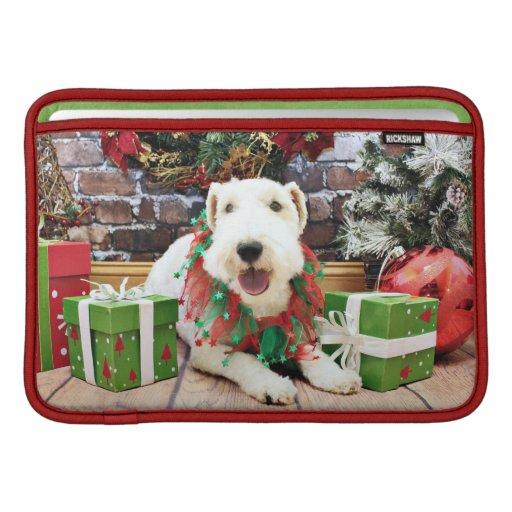 Navidad - fox terrier - Annie Funda Para Macbook Air