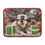 Navidad - fox terrier - Annie Funda Macbook Pro