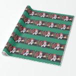 Navidad - fox terrier del alambre - Dexter