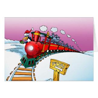 Navidad fresco tarjetas