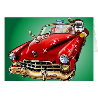 ¡Navidad fresco! Tarjeta De Felicitación