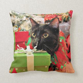 Navidad - gato - Bentley Cojines