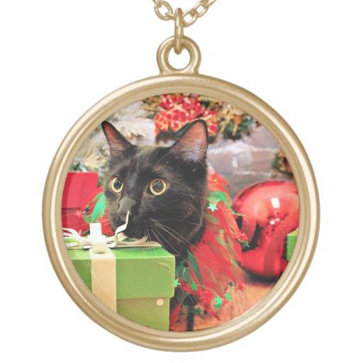 Navidad - gato - Bentley Colgante Redondo