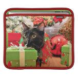 Navidad - gato - Bentley Funda Para iPads