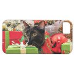 Navidad - gato - Bentley iPhone 5 Funda