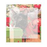 Navidad - gato - Bentley Libreta Para Notas