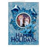 Navidad - gato - mantequilla y guarro tarjetón