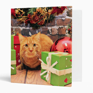 Navidad - gato - Morris