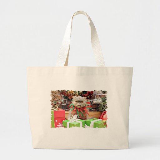 Navidad - gato persa - Morrison Bolsas