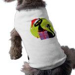 Navidad gato y ratón camisa de perro