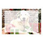 Navidad - golden retriever - el Hudson Papelería Personalizada