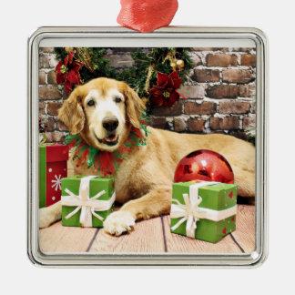 Navidad - golden retriever - Izzy Ornamento De Reyes Magos