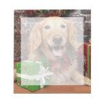 Navidad - golden retriever - Sidney Libretas Para Notas
