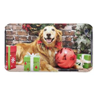 Navidad - golden retriever - Wrigley iPod Touch Carcasa