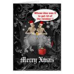 Navidad gótico divertido