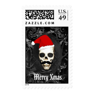 Navidad gótico divertido de Santa