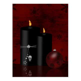 Navidad gótico - postal