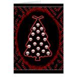 Navidad gótico tarjeta