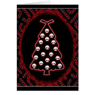 Navidad gótico tarjeta de felicitación