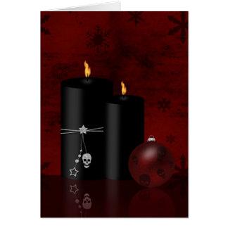 Navidad gótico - tarjeta de felicitación