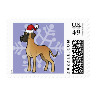 Navidad great dane sellos