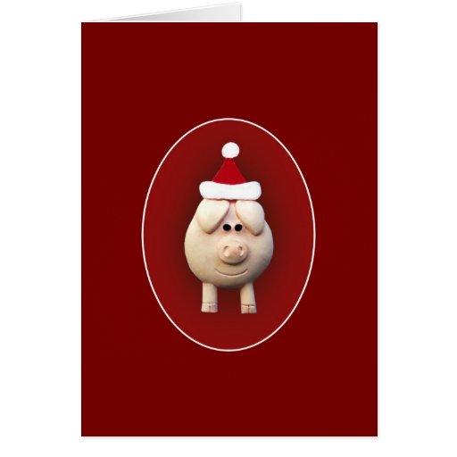 Navidad guarra tarjeton