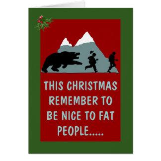 Navidad hilarante felicitación