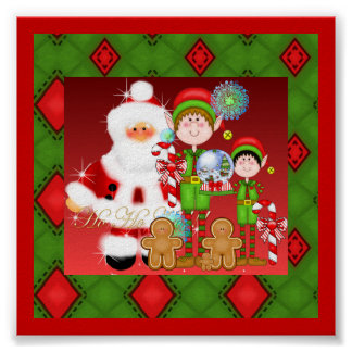 Navidad Ho Ho Ho Posters