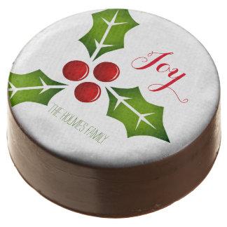 Navidad Hollies personalizado
