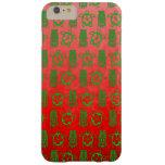 Navidad Honu y Tiki Funda De iPhone 6 Plus Barely There