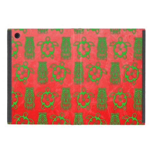 Navidad Honu y Tiki iPad Mini Cárcasas