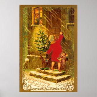 Navidad húngaro a partir de 1896 posters