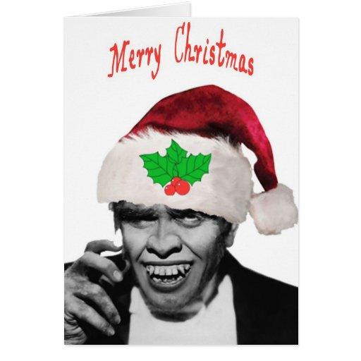 Navidad Hyde Tarjeta De Felicitación