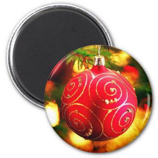 Navidad Imán Redondo 5 Cm
