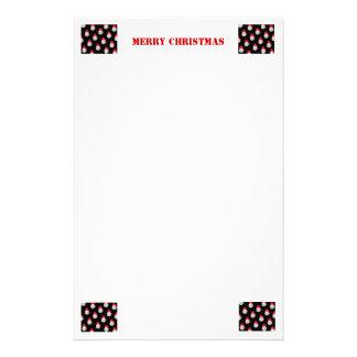 Navidad inmóvil papelería personalizada